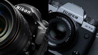 Nikon D850 and Fujifilm X T20
