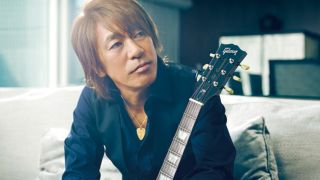"Matsumoto says that his first gig, backing up singer Mari Hamada, was a ""dream come true."""