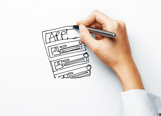 Wireframe tools: Pen and paper