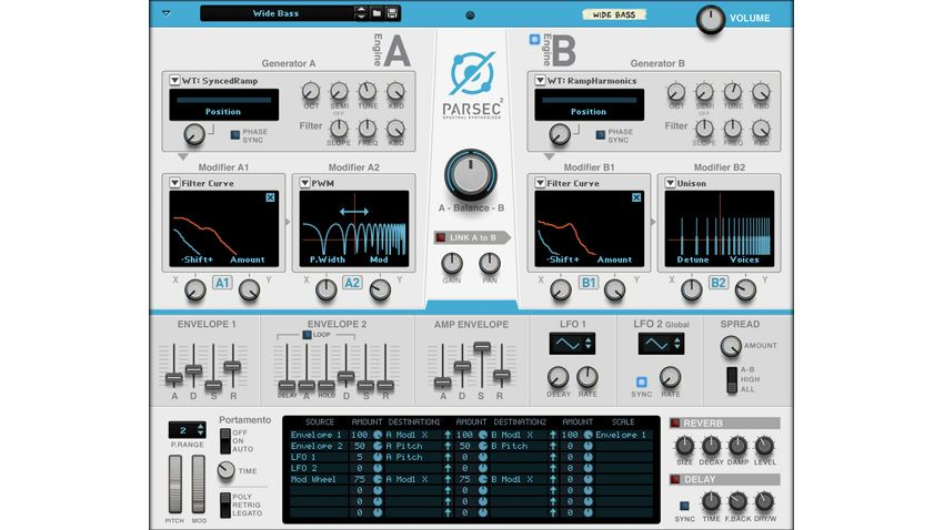 Propellerhead goes the extra mile with its Parsec 2 Reason