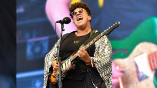 Brittany Howard performs during Austin City Limits Festival at Zilker Park on October 12, 2019 in Austin, Texas.