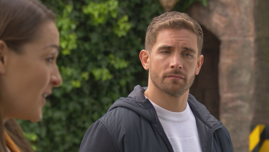 Brody Hudson and Sienna in Hollyoaks