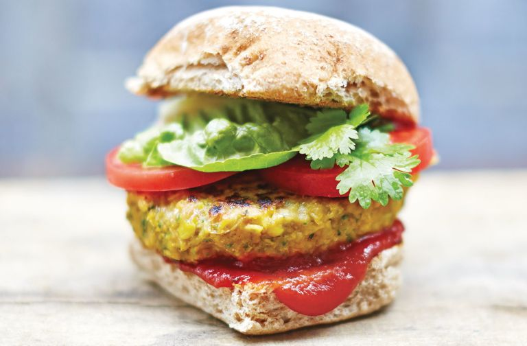 Veggie Burgers Jamie Oliver S Spicy Recipe Is A Bbq Must Even For Meat Eaters Real Homes
