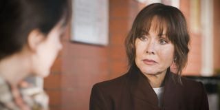 Connie Beauchamp deep in talks with daughter Grace in Casualty