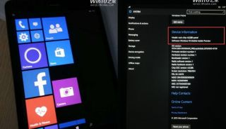 Windows 10 mobile on a tablet