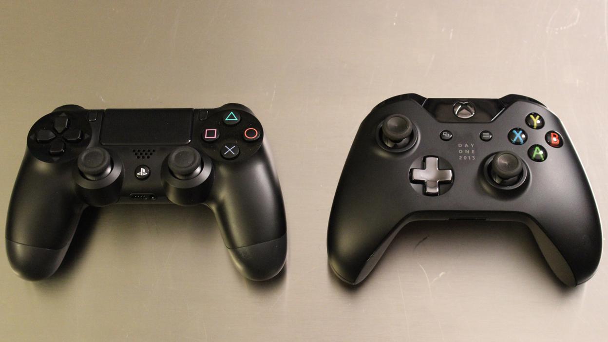 xbox 360 vs ps4 controller