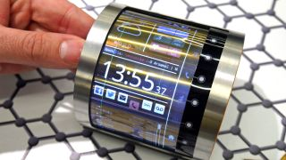 This is the flexible, foldable future of smartphone displays