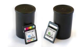 Olympus memory cards