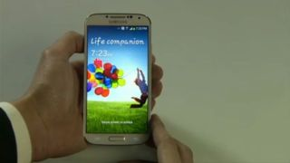 Samsung S4 launch