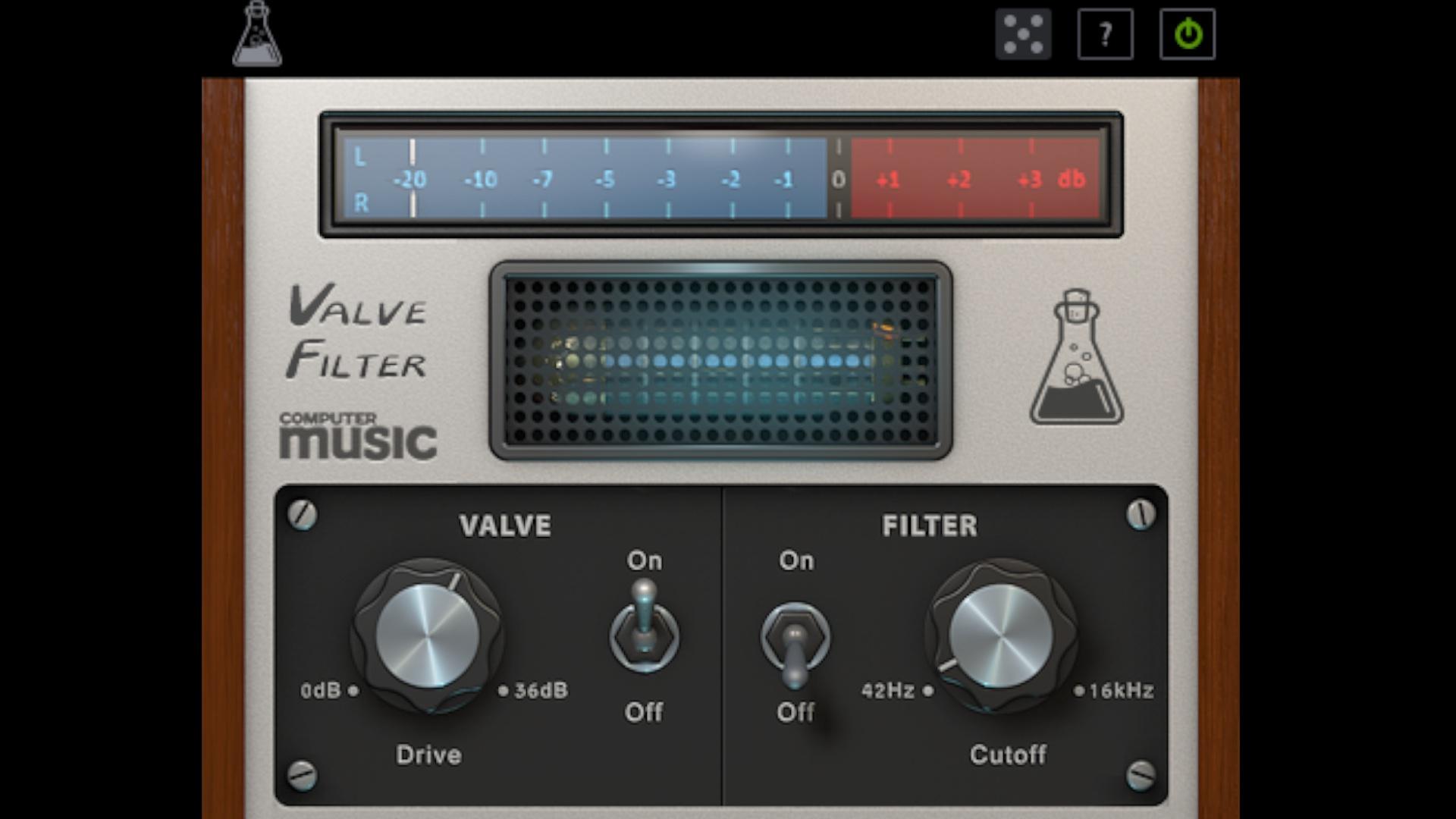 ValveFilter CM - Free VST/AU filter and drive plugin