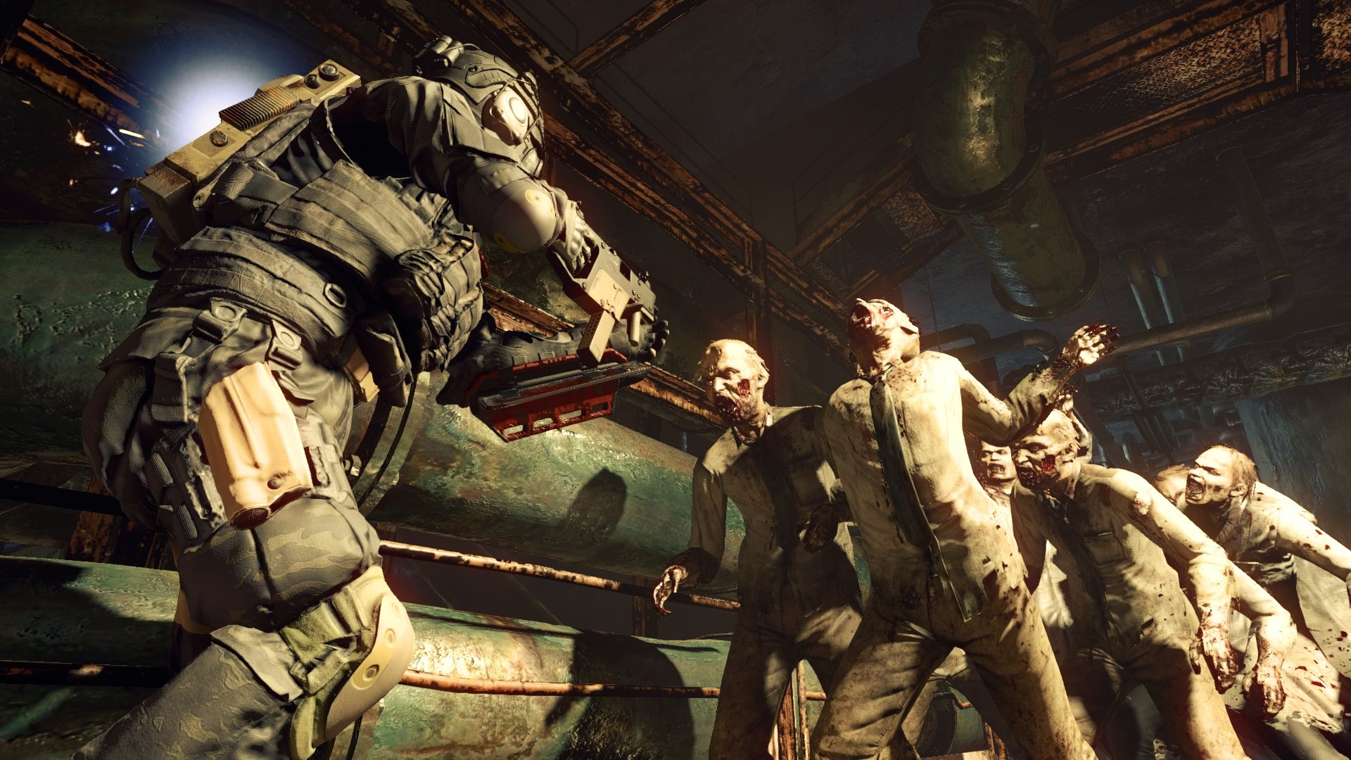 Umbrella Corps Is A Third Person Online Shooter Set In The Resident Evil Universe Pc Gamer