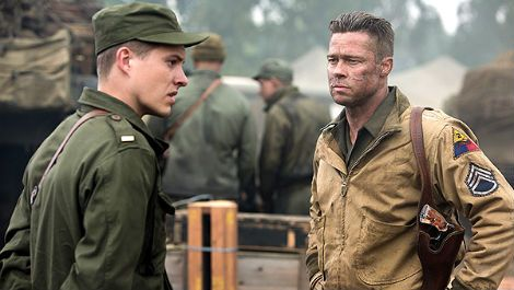 Brad Pitt reveals his intense Fury training regime