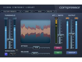 The Compressor is one of eight Vienna Suite effects