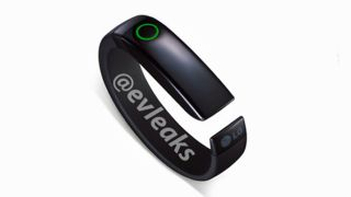 LG Lifeband Touch fitness tracker photo