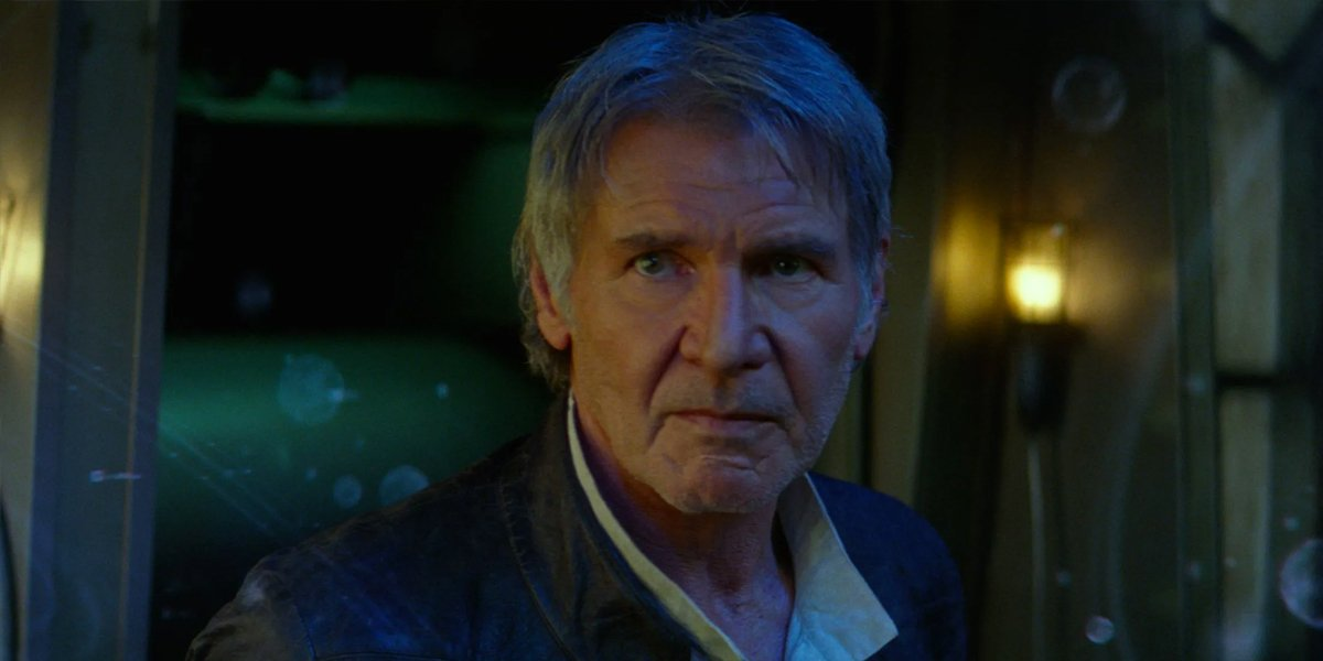 Harrison Ford Han Solo The Force Awakens