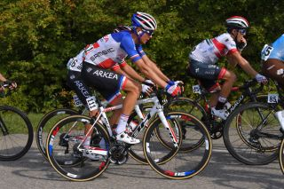 French road race champion Warren Barguil (Arkéa-Samsic) at the 2019 Giro dell'Emilia