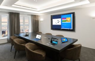 Microsoft Surface Hub to Pair Natively with Crestron Enterprise Solutions