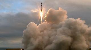 Electron rocket launch