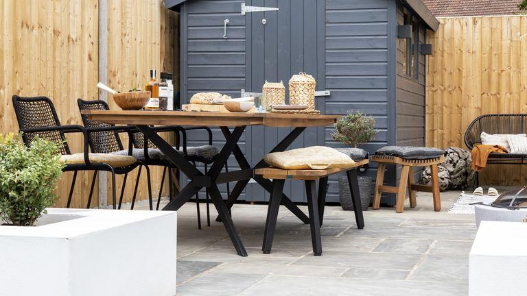outdoor dining ideas: