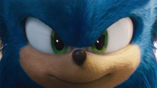 Sonic's back from the drawing board and looking pretty fly.