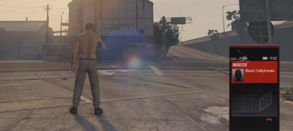 Dial this secret GTA 5 phone number for inexplicable explosions