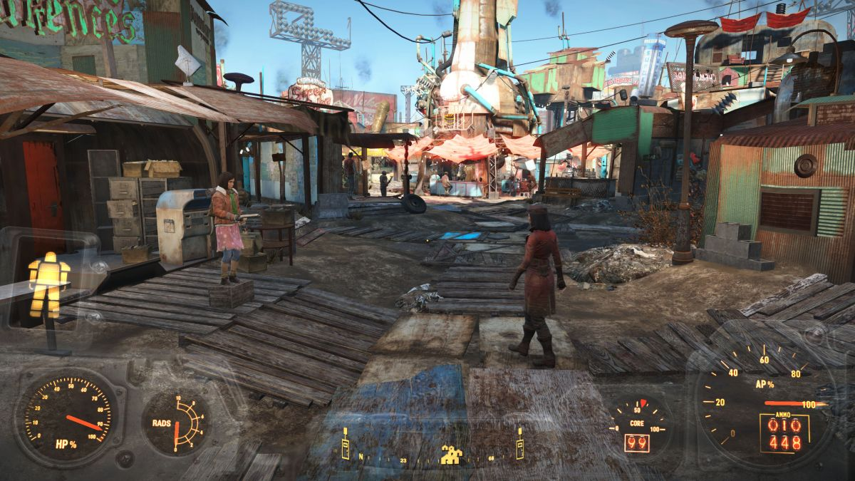 benchmarked fallout 4 pc gamer. Black Bedroom Furniture Sets. Home Design Ideas
