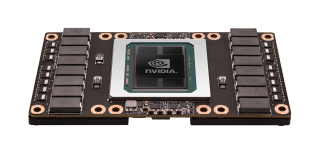 NVIDIA Tesla P100 GPU topfrontangle4