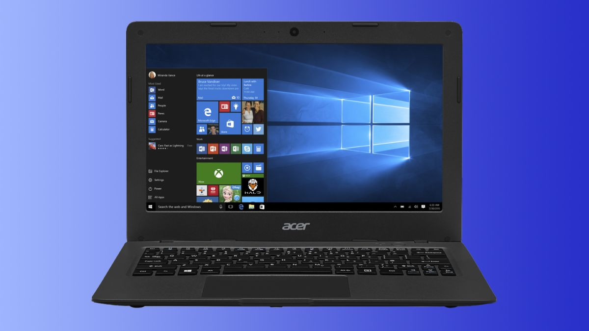 Acer Introduces Uber Cheap Laptops For Windows 10 Techradar