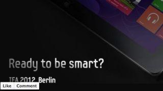 Samsung Windows 8 tablet Facebook page