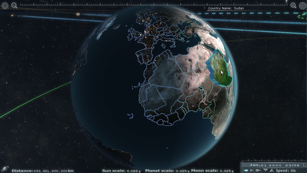Explore The Solar System With Unreal Engine App #21705