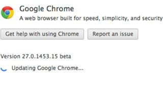 Chrome 27 beta improved browser's speed