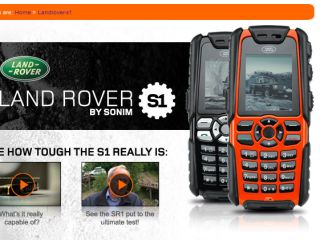 Tough new Land Rover S1 Sonin phone for clumsy callers