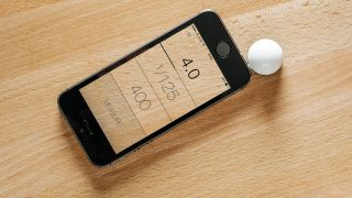 Lumu light meter for iPhone