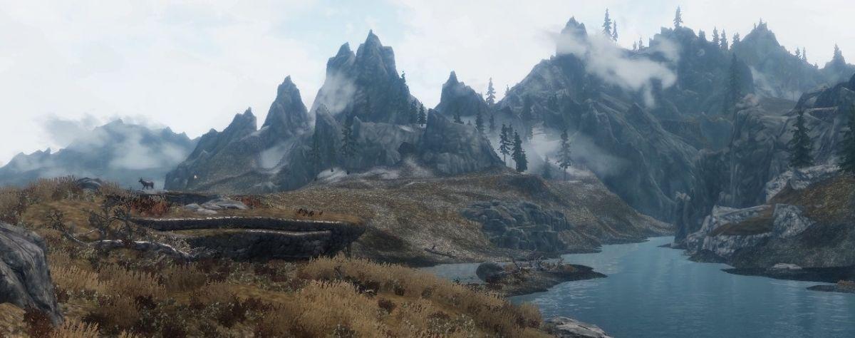 Skyrim Enhanced Terrain mod increases detail of distant ... Fallout 76
