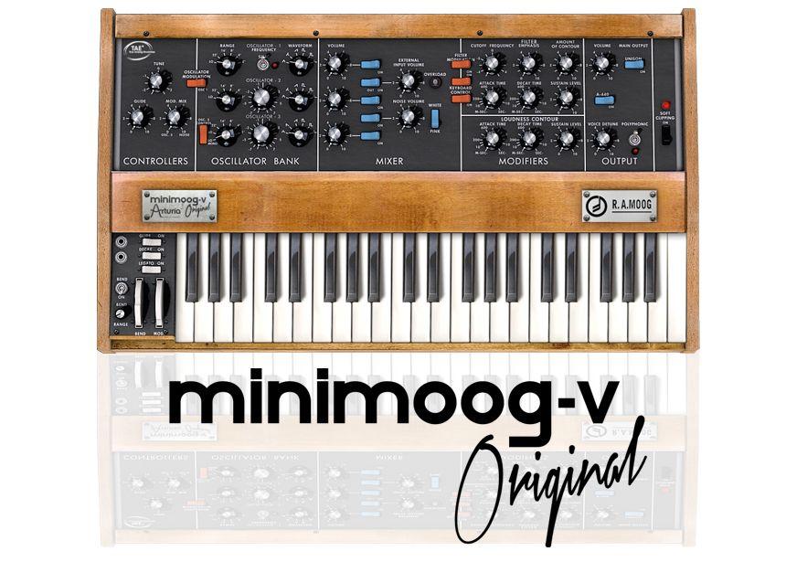 Minimoog V Original VST