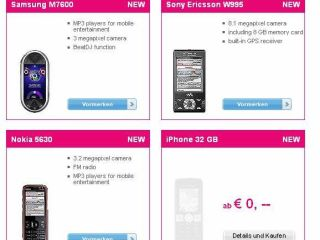 32GB iPhone confirmed by a placeholder snafu on T Mobile s Austrian website