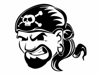Web pirates look like real pirates, don't chak now