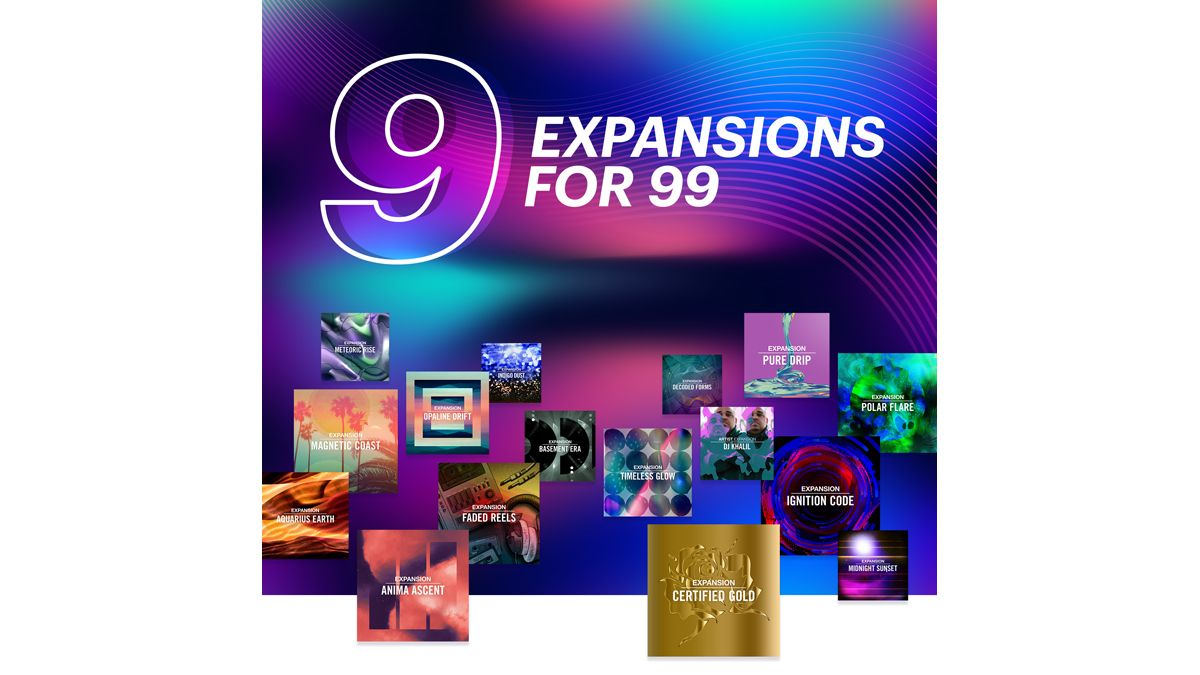 Get 9 Native Instruments Expansions for just $99: save 75% on new content for Maschine, Massive and more