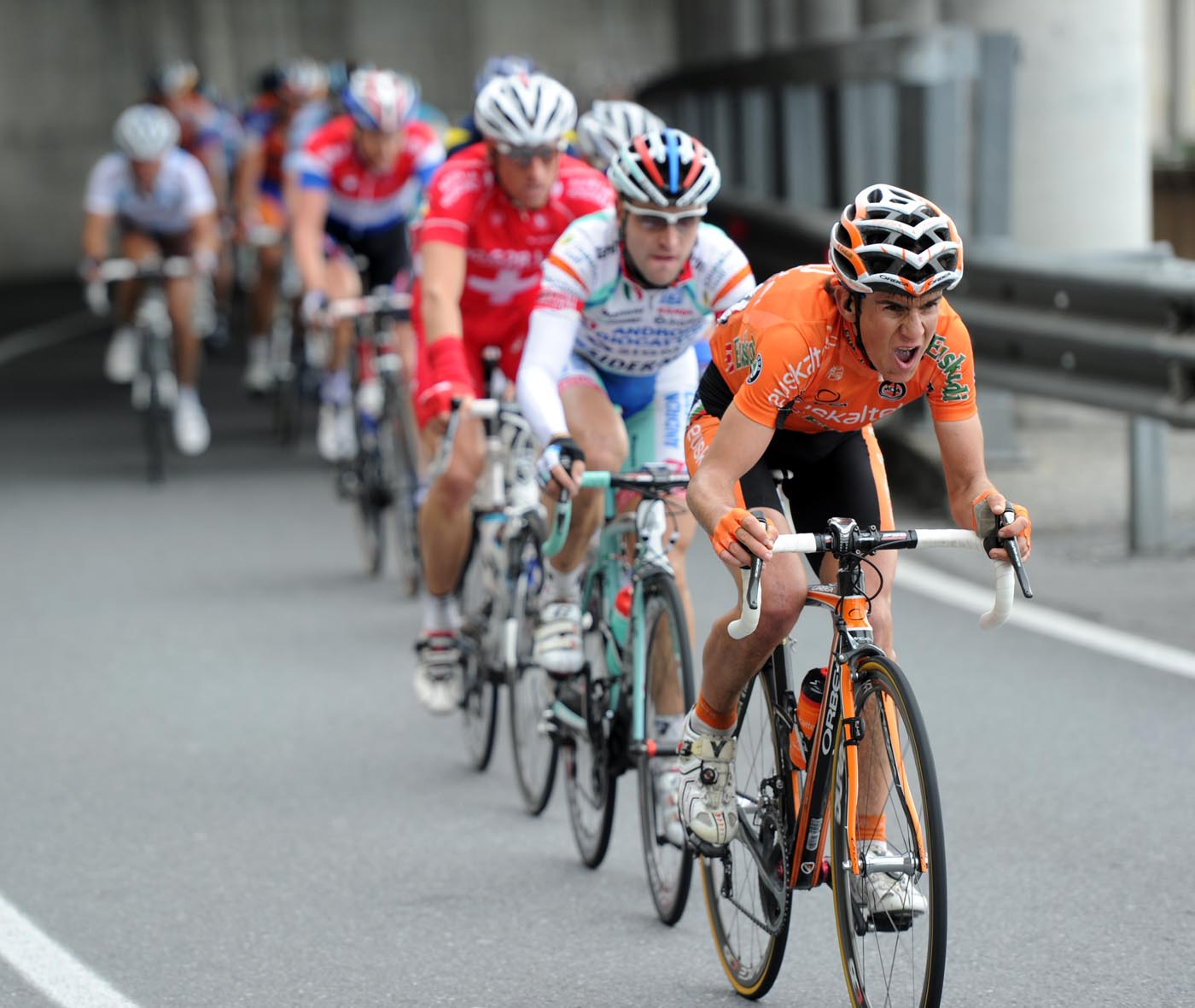 Euskaltel chase, Milan-San Remo 2011