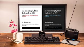 Use light and dark mode in CSS