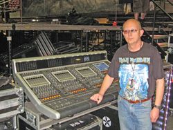 DiGiCo D5 Is Flying High With Iron Maiden