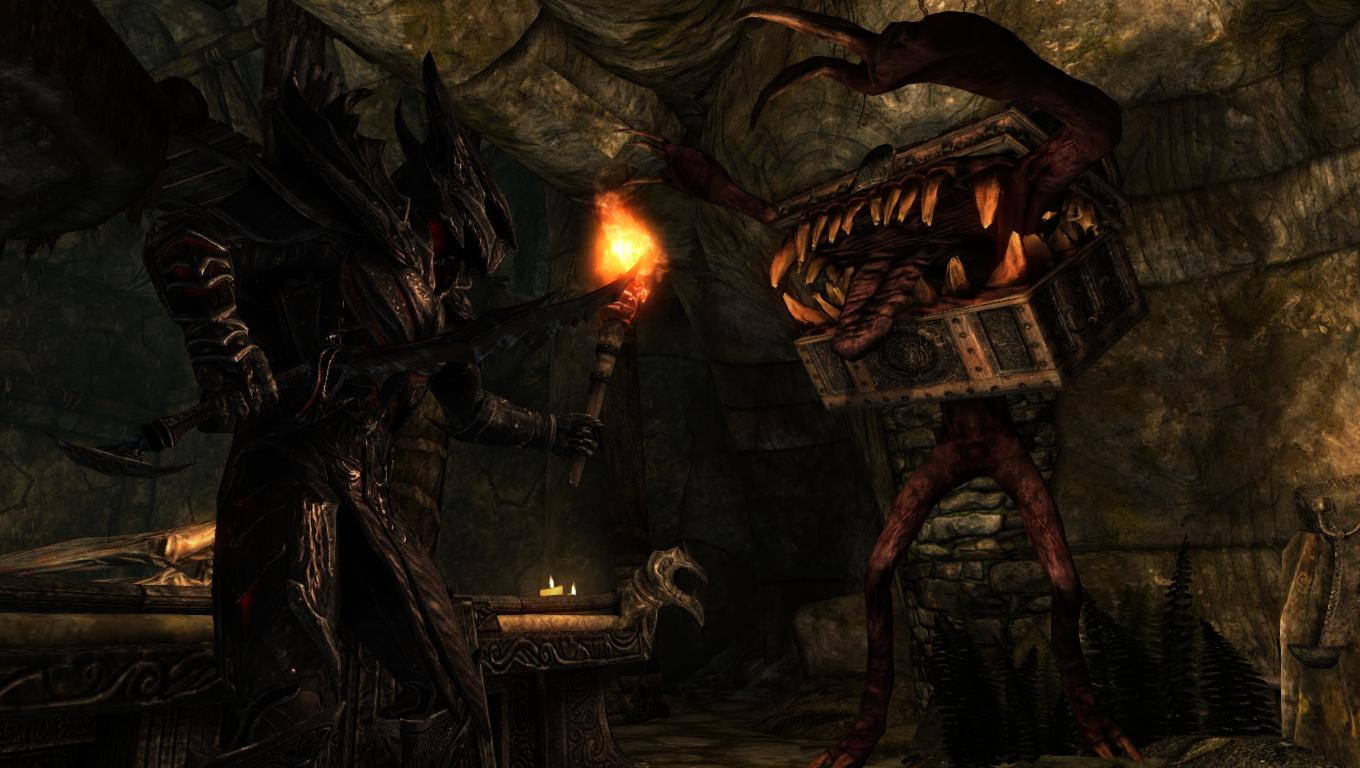 This Skyrim mimic mod has completely ruined chests | PC Gamer