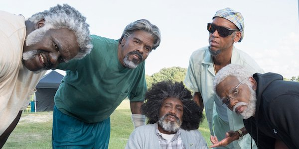 The cast of Uncle Drew
