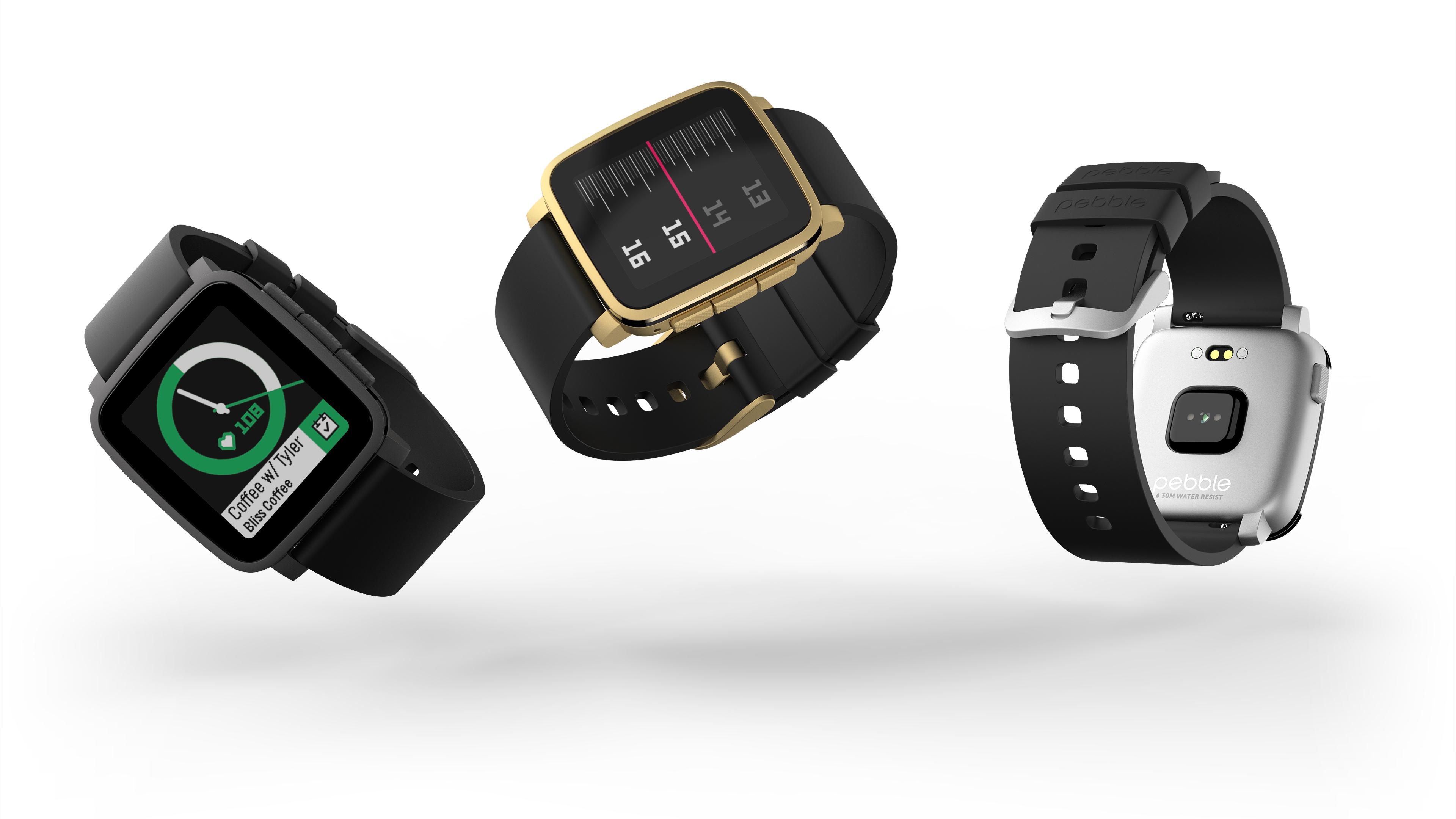 Pebble Time 2 Vs Techradar Smartwatch Red