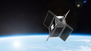 SpaceVR satellite