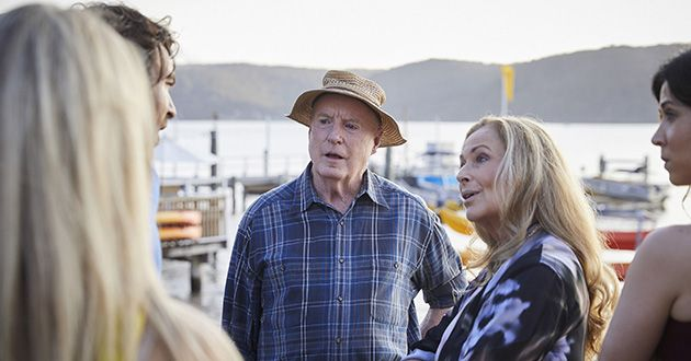 Alf Stewart accidently leads Diana Walford to believe the Astonis are keeping things from her in Home and Away.