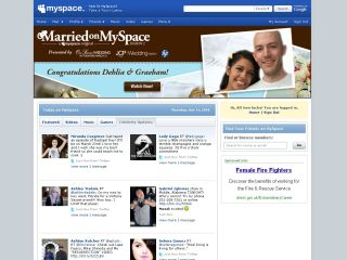 MySpace laughing in the face of the credit crunch