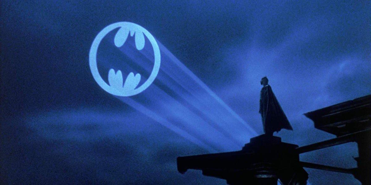 The Bat-Signal in 1989's Batman