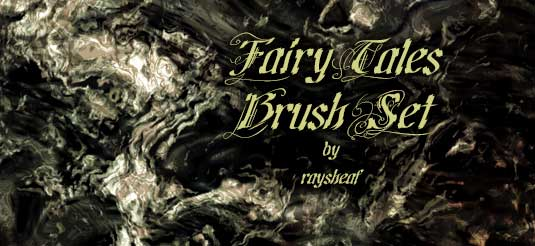 Photoshop brushes: Fairy tales