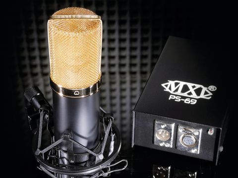 The V69 compares favourably with more expensive valve mics.